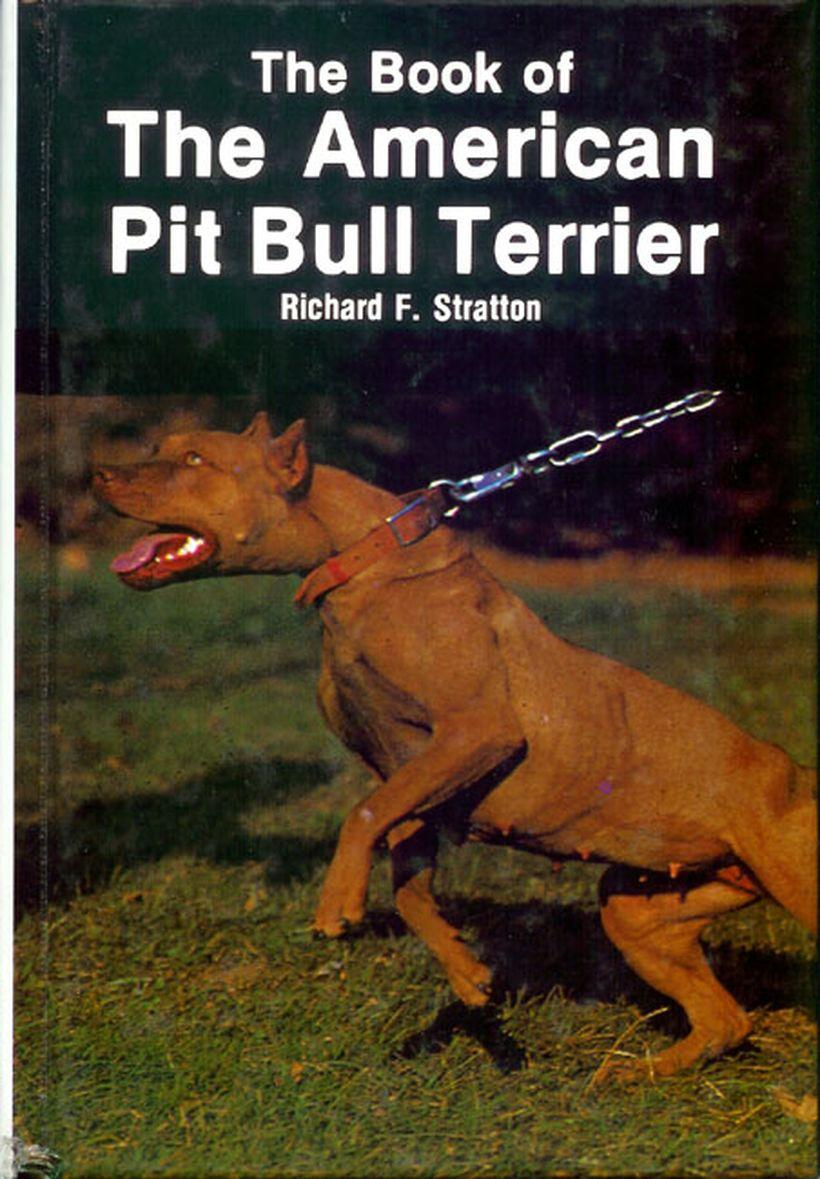 Livro do Richard Stratton - the book of the american pit bull terrier